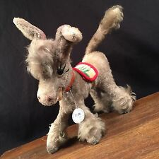 Vintage Plush Donkey Mufti German Anker Mohair Germany Toy PRIORITY MAIL