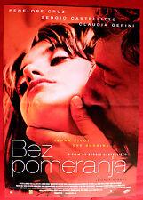 DON'T MOVE 2004 PENELOPE CRUZ SERGIO CASTELLITTO UNIQUE SERBIAN MOVIE POSTER