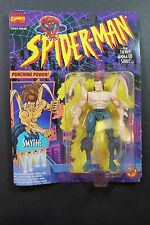 Toy Biz Spider-Man Smythe vintage new in box Animated Figurine Marvel Comics