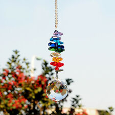 Sun Catcher Crystal Chandelier Prisms Hanging Rainbow Makers Feng Shui Cascade