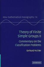 Theory of Finite Simple Groups II : Commentary on the Classification Problems...