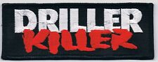 "DRILLER KILLER ""logo"" patch black uniforms gism wolfpack disgust ent doom"