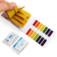 2x80 pH Strisce Reattive Per Test Alcalina Acido 1-14 Carta Tornasole Tester