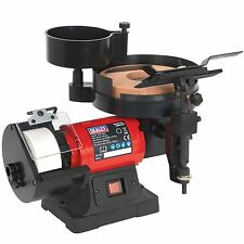 Sealey Bench Grinder/Sharpener Wet And Dry - 200/125mm Dia - 250W/230V - SMS2107