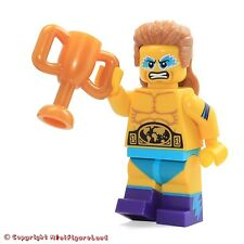 LEGO Collectible MiniFigure: Series 15: #14 - Wrestling Champion (Sealed Pack)