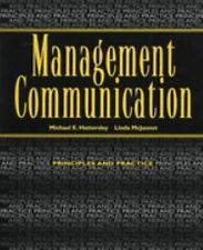 Management Communication : Principles and Practice by Michael Hattersley and Lin