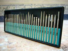 30 pieces THK Diamond rotary coated tipped burrs glass drill drills bit GRIT 300