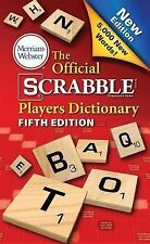 THE OFFICIAL SCRABBLE PLAYERS DICTIONARY 5th Edition (2014) NEW book reference