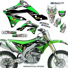 ALL YEARS KX 65 GRAPHICS KIT KAWASAKI KX65 DECO DECALS STICKERS MOTOCROSS