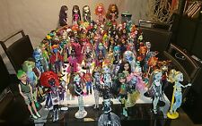 HUGE Monster High Doll's lot 105 dolls and lots of accessories