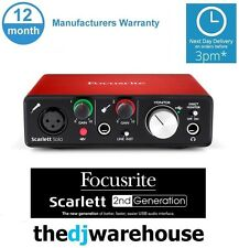 Focusrite Scarlett Solo Mk2 (2nd Gen) *Latest Version* USB + Ableton Live Lite