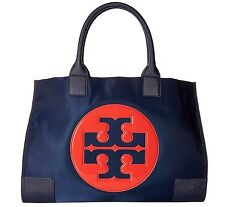 Tory Burch Nylon Ella Color Block Tote