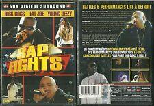 RARE / DVD - RAP FIGHTS : RAP US - FAT JOE RICK ROSS/ NEUF EMBALLE -NEW & SEALED