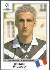 PANINI UEFA CHAMPIONS LEAGUE 1999-00- #265-BORDEAUX-JOHAN MICOUD