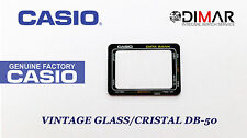 CRISTALLO / GLASS CASIO ORIGINAL DB-50  NOS