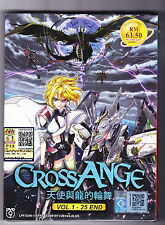 *NEW* CROSS ANGE *25 EPISODES*ENGLISH SUBTITLES*ANIME LOT*US SELLER