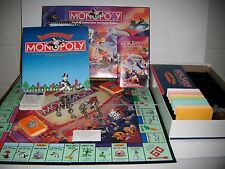 MONOPOLY LOONEY TUNES OFFICIAL CLASSIC CARTOON EDITION PARKER BROTHERS 41231