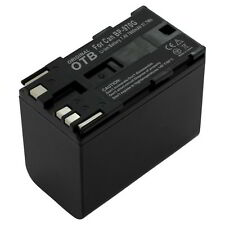 OTB battery 6600mAh 7,4V for Canon XH A1 / XH A1S / XH G1