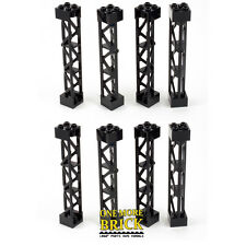 LEGO Girder 2x2x10 Lattice Tower Scaffold (Part 95347) Pack of 8 NEW
