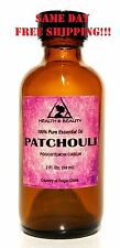 PATCHOULI ESSENTIAL OIL AROMATHERAPY NATURAL PURE GLASS BOTTLE 2.0 OZ, 59 ML