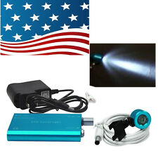 promotion! Portable Blue LED Head Light Lamp for Dental Surgical Binocular Loupe