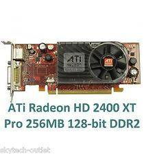 ATI Radeon HD2400XT Pro 256MB DDR2 a 128 bit PCI Express x16 DMS-59 S-VIDEO TV-Out