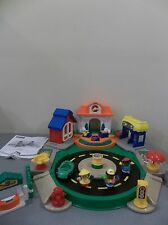 FISHER PRICE DISCOVERY VILLAGE ALL AROUND TOWN SOUNDS MUSIC LITTLE PEOPLE SET
