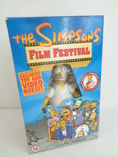 THE SIMPSONS FILM FESTIVAL - EXCLUSIVE TOY & VIDEO BOXSET - HOMER SIMPSON