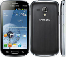 Original Samsung Galaxy S Duos S7562 Black Unlocked smartphone 5MP,Dual-Sim,4""