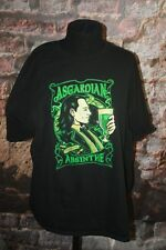 LOKI Tom Hiddleston Asgardian Absinthe black T-Shirt size 2XL by Teeflury