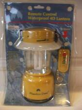 NIB Waterproof 4 D Cell Lantern Mountain Green Remote Control Floats Compact NEW