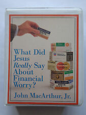 2 Cassette Set. What Did Jesus Really Say About Financial Worry ?