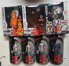 Lost In Space Trendmasters 7 figure lot Dr. Smith Tybo Cyclops Robot Don Will