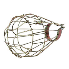 Iron Wire Bulb Cage, Clamp On, Old Look, Vintage Lighting, Steampunk T1