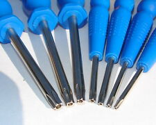 Screwdriver 5 point star torx TS8 TS10 TS15 TS20 TS25 TS27 TS30 tamper resistant