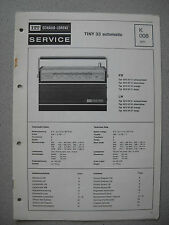 ITT/Schaub Lorenz Tiny 33 automatic Service Manual, K008
