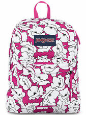 Jansport Superbreak Backpack JS00T5010EG Cyber Pink Bloc MSRP $50+