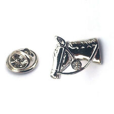 Horse Head LAPEL PIN BADGE Owner Rider Equestrian Pony Club Birthday Present
