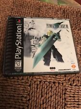 Final Fantasy VII (Sony PlayStation 1, 1997) Perfect Perfect!! Disc Mint Mint LN