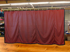 New!! Burgundy Curtain/Stage Backdrop/Partition, Non-FR, 9 H x 20 W