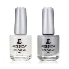 Jessica Special Edition Hologram Chic Duo Nail Polish Manicure Nail Art Gift Set