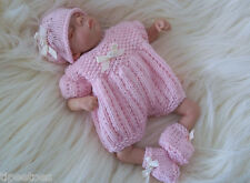 "Dolls Knitting Pattern #3 TO KNIT Lil Pumpkin 8"" & 10"" Reborn Berenguer OOAK"