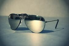 *3 PACK* SILVER BLACK & GOLD Full MIRROR AVIATOR Sunglasses w/ METAL FRAME