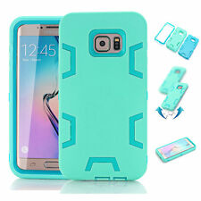 Shockproof Hybrid Rugged Rubber Hard Case Cover For Samsung Galaxy Note 5 Mint