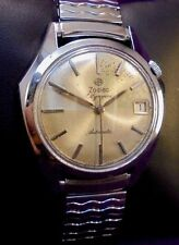 1960 Vintage Zodiac Olympos Automatic Swiss Batman Style Asymmetrical Men Watch