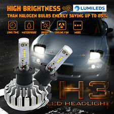 150W H3 LED Headlight High Low Beam Conversion Kit 15000LM Fog Light For Subaru