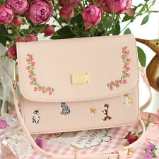 Vintage Embroider Mori Girl Sweet Princess Handbags Messenger Bag Shoulder Bags