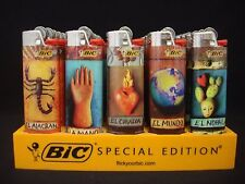 10 Bic Lighters Mexican Loteria Designs Regular Size Disposable Lighter