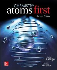 Chemistry - Atoms First by Julia Burdge (2014, Hardcover / Mixed Media)