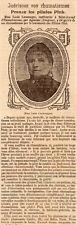 36 MME GEOFFROY ABLENAY NEUVY PAILLOUX PILULES PINK PUBLICITE 1906 FRENCH AD